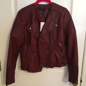 Forever 21 maroon jacket
